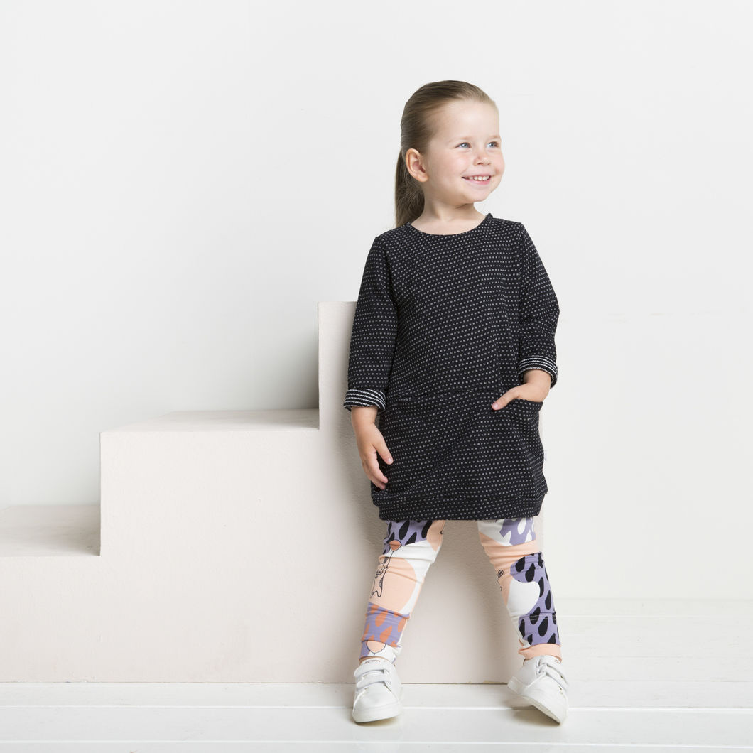PUPU junior trikooleggings, bellini
